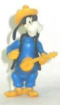 Mickey and friends - Kinder Premium Collapsible Plastique Figure -Goofy with banjo