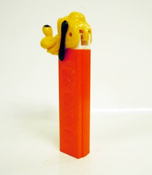 Mickey and friends - PEZ dispenser - Pluto (patent number 3.410.455) red