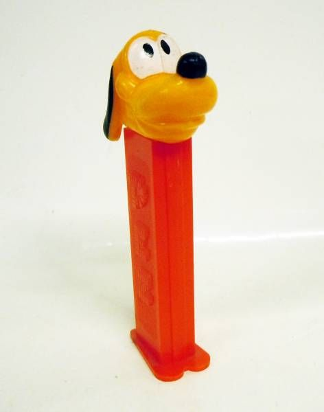 Mickey and friends - PEZ dispenser - Pluto (patent number 3.942.683) red