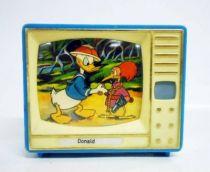 Mickey and friends - Plastiskop Mini-Viewer TVset - Donald