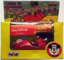 Mickey and friends - Polistil Die-cast Vehicle -  Gyro Gearllose