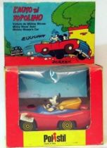 Mickey and friends - Polistil Die-cast Vehicle -  Mickey