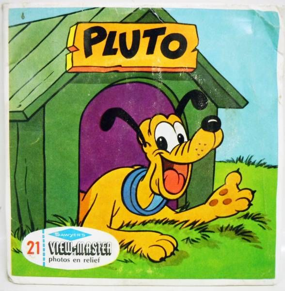 Mickey and friends - Set of 3 discs View Master 3-D - Pluto