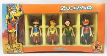 Mickey and friends - Zooland Airgam Boys Ref. 863 - Indian Mickey, Pluto, Goofy & Donald