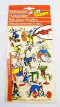 Mickey et ses amis - Déclacomanie par transfert Pressers - Sport Goofy #1