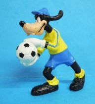 Mickey et ses amis - Figurine PVC Bully 1998 Winnig Team - Dingo
