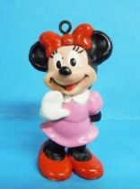 Mickey et ses amis - Figurine PVC Lucky 1986 - Minnie (ornement)