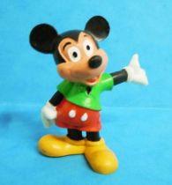 Mickey et ses amis - Figurine PVC M+B 1982- Mickey