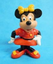 Mickey et ses amis - Figurine PVC M+B 1982- Minnie