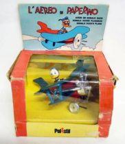 Mickey et ses amis - Véhicule Die-cast Polistil- Avion de Donald Duck