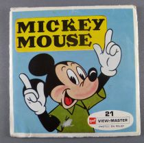Mickey Mouse - Set of 3 discs View Master 3-D