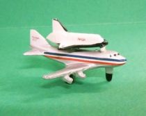 Micro Machines - Galoob - 1987 Aircraft 1 Collection (747 Jumbo Jet + Space Shuttle)