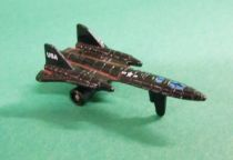 Micro Machines - Galoob - 1987 Aircraft 1 Collection (SR-71 Blackbird)