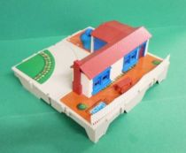 Micro Machines - Galoob - 1987 Travel City Playsets (House + Garage)