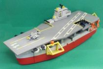 Micro Machines - Galoob - 1988 Aircraft Carrier Action Playset