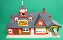Micro Machines - Galoob - 1989 City Scenes Light-up Playset (Central Station)