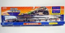 Micro Machines - Galoob - 1989 Train Set (TGV - High Speed Bullet)