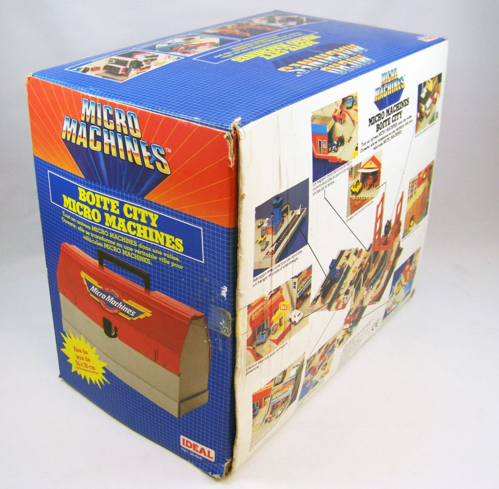 Micro Machines - Galoob Ideal - 1989 Boite City Playsets (Toolbox) occasion en boite 03