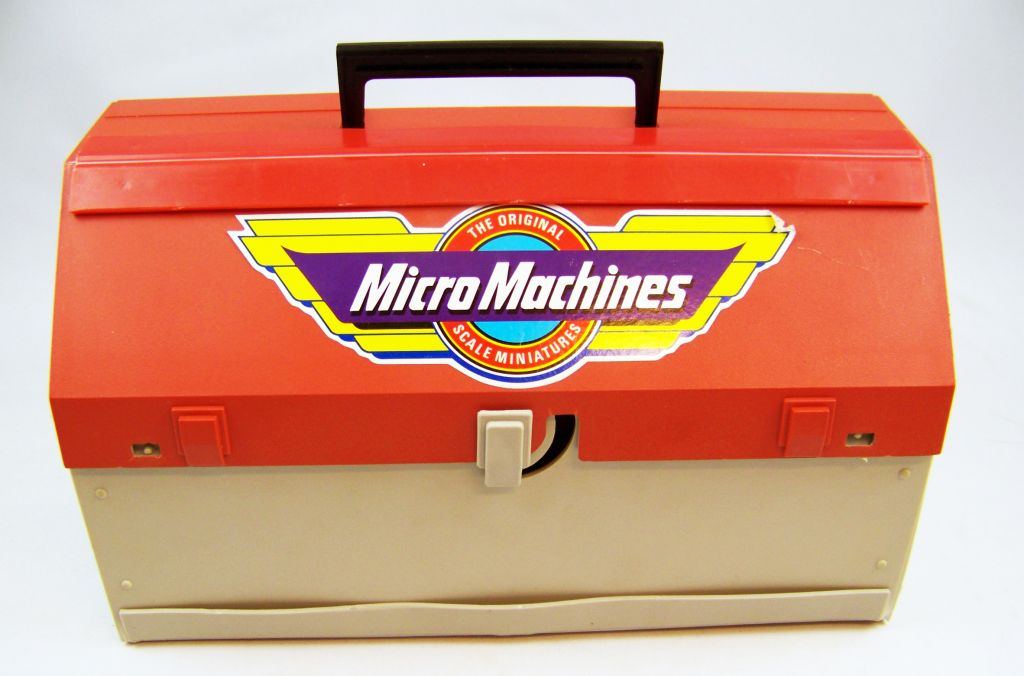 Micro Machines - Galoob Ideal - 1989 Boite City Playsets (Toolbox) occasion en boite 04