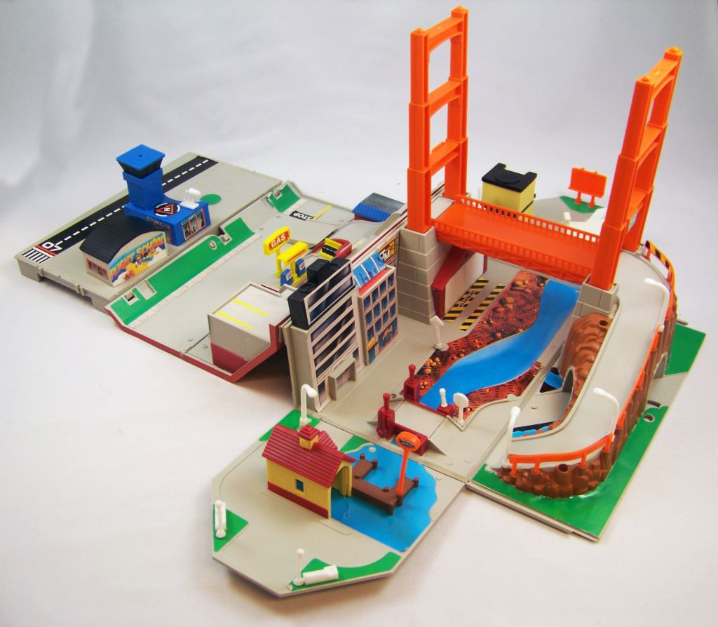 Micro Machines - Galoob Ideal - 1989 Boite City Playsets (Toolbox) occasion en boite 06