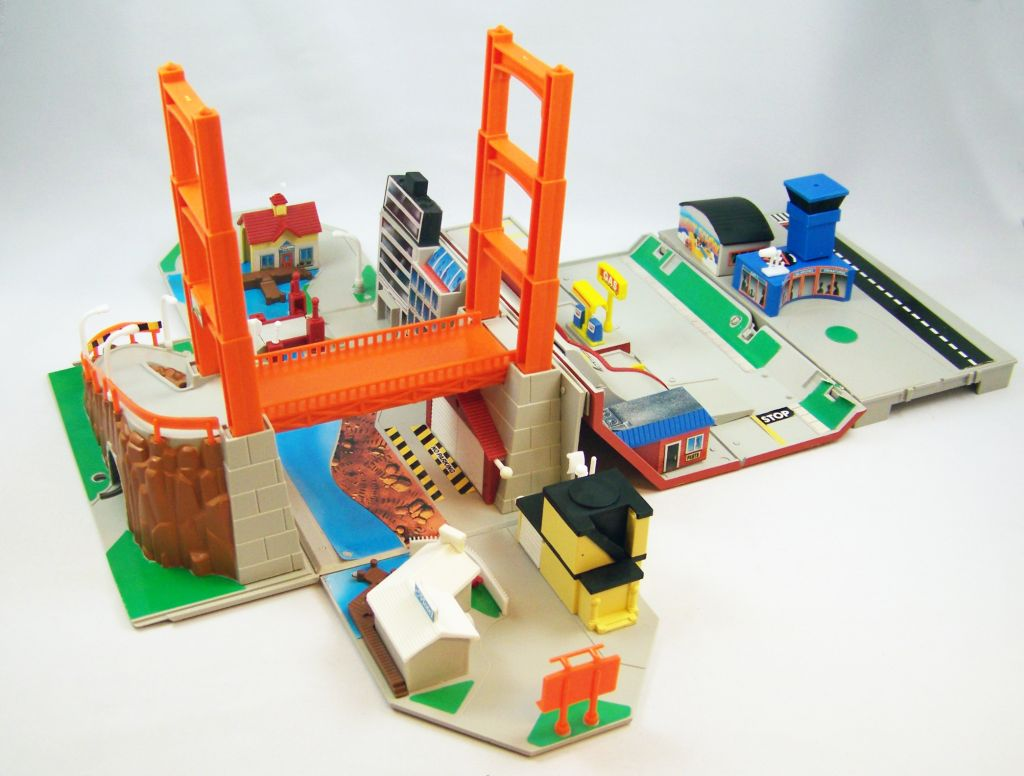 Micro Machines - Galoob Ideal - 1989 Boite City Playsets (Toolbox) occasion en boite 07