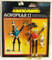 Micronauts - Acroyear II (Red) - Mego GIG