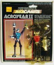 Micronauts - Acroyear II (Red) - Mego Pin Pin Toys
