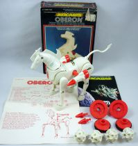 Micronauts - Oberon (loose with box) - Mego Pin Pin Toys