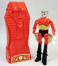 Micronauts - Pharoid (rouge) with Time Chamber (loose)