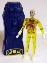 Micronauts - Pharoid (yellow) with Time Chamber (loose)