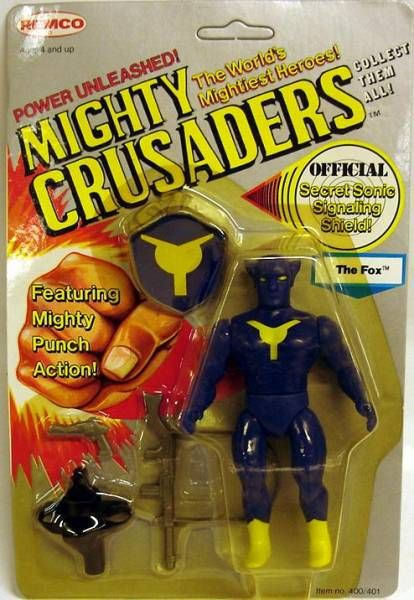Mighty Crusaders - The Fox - Remco
