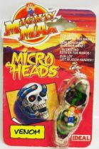 Mighty Max - Micro Heads - Venom