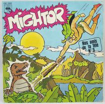 Mighty Mightor - Mini-LP Record - CBS Records 1979