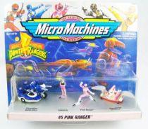 Mighty Morphin Power Rangers - Micro Machines Galoob 1994 - #5 Pink Ranger 01