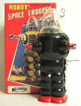 Mike Co. Forbidden planet Robby Robot space trooper