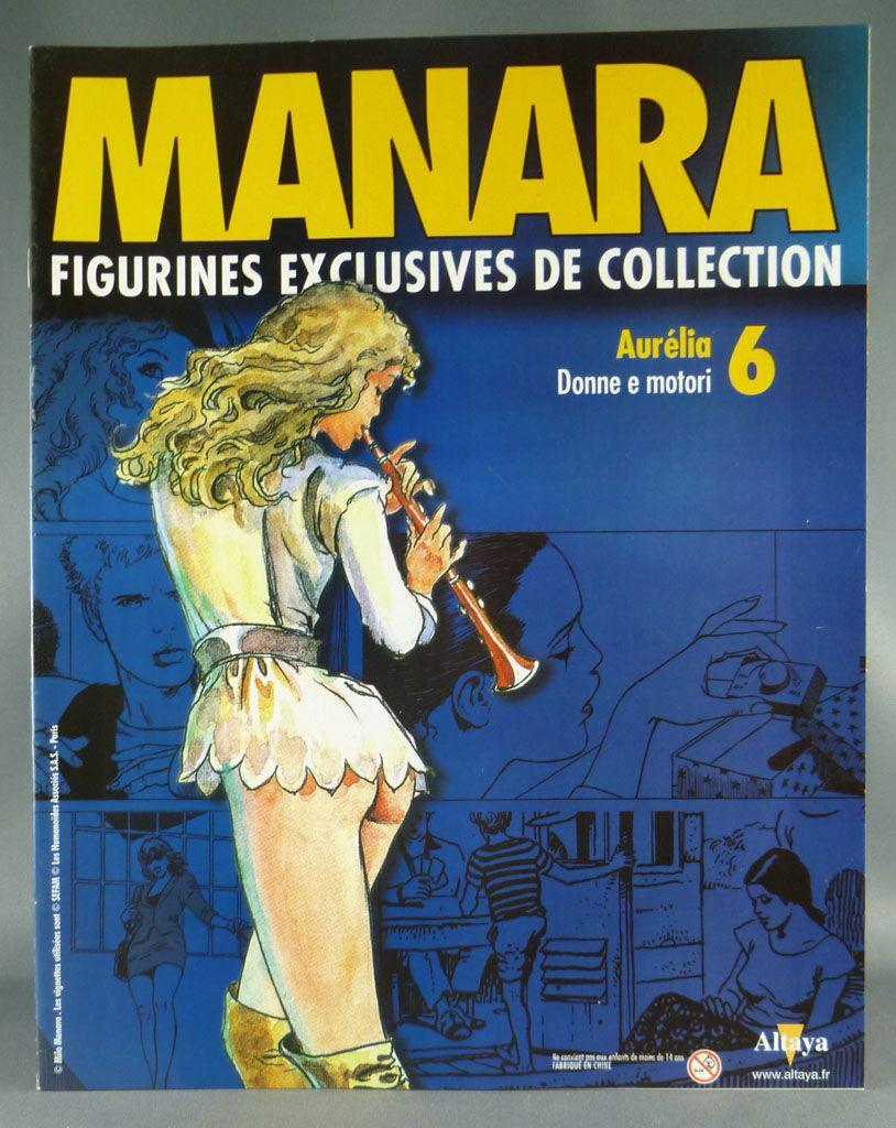 Milo Manara - Statuette Altaya N° 06 - Aurelia fascicule