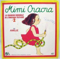 Mimi Cracra - Disque 45Tours - Bande Originale Série Tv - Disques Ades 1986