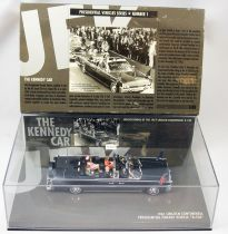 """Minichamps JFK 1961 Lincoln Continental Presidential Parade Vehicle \""""X-100\"""" 1/43"""