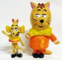 Minizup and Matouvu - set of 2 Jim figures