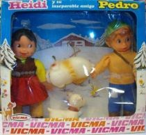 Mint 2Pack box Heidi & Pedro (Peter) 8\'\' Dolls Vicma