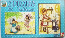 Miss Petticoat - Boite de 2 Puzzles 100 pièces - Nathan