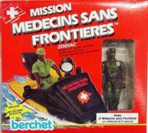 Mission Medecins Sans Frontieres - Zodiac with Pilot