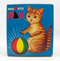 Mizzi, le chat magnétique - Figurine Magnétique - Magneto 1979