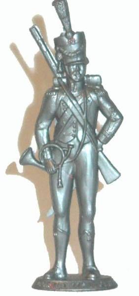 Mokarex Napoleonics (demi-rond de bosse) 17° chevau-leger Bugler