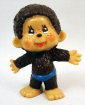 Monchichi - Bully pvc figure - Boy in bath suit
