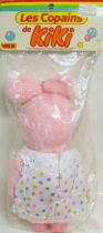 Monchichi - Monchichi\'s friend - 12\'\' Pink rabbit girl Ajena (mint in baggie)
