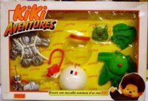 Monchichi adventures Mint in box Space set