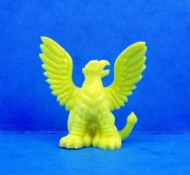 Monster in My Pocket - Matchbox - Series 1 - #05 Griffin (yellow)