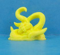 Monster in My Pocket - Matchbox - Series 1 - #11 Kraken (yellow)