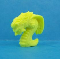 Monster in My Pocket - Matchbox - Series 1 - #21 Harpy (yellow)